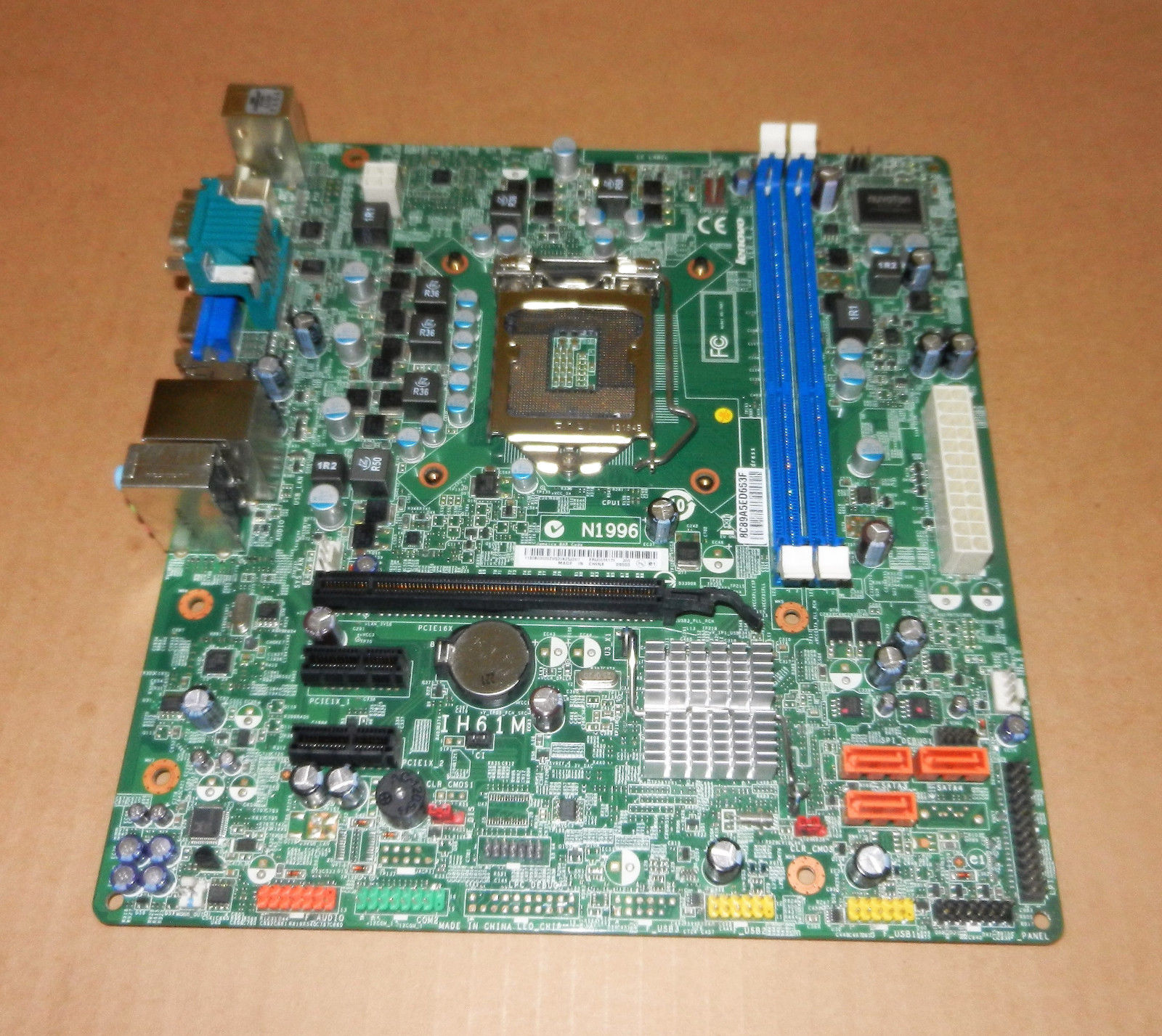 Lenovo 03T8179 Motherboard for M72e ThinkCentre Desktops IH61M 1155 mATX