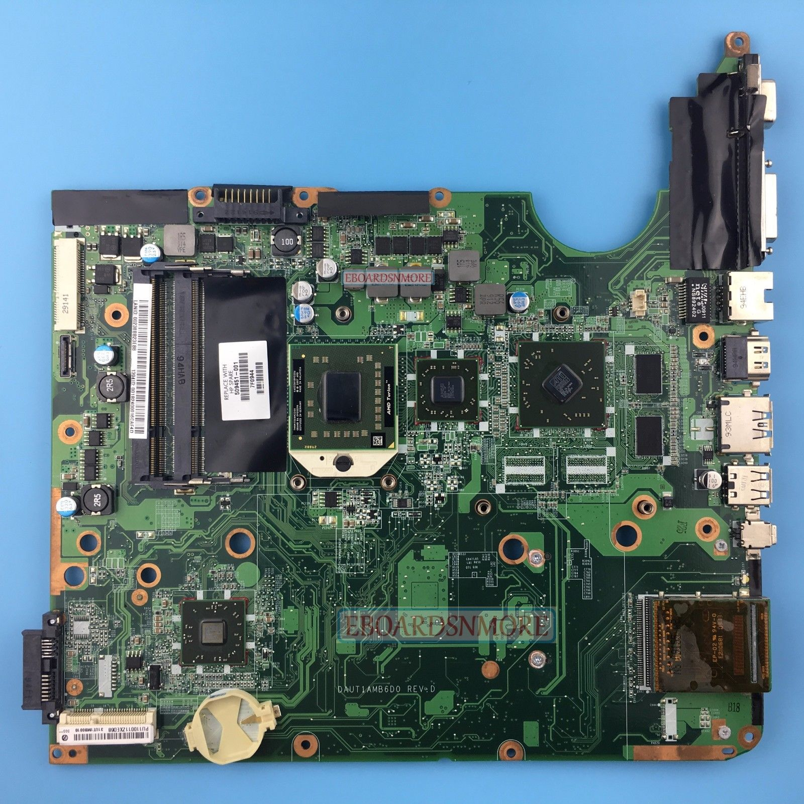 509451-001-HP-DV6-DV6-1000-series-AMD-laptop-motherboard-ATI-graphcis-fr