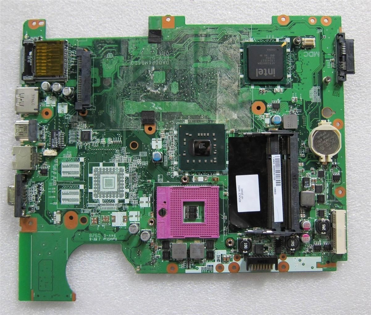 HP Compaq CQ61 CQ61-100 Intel Motherboard 578053-001