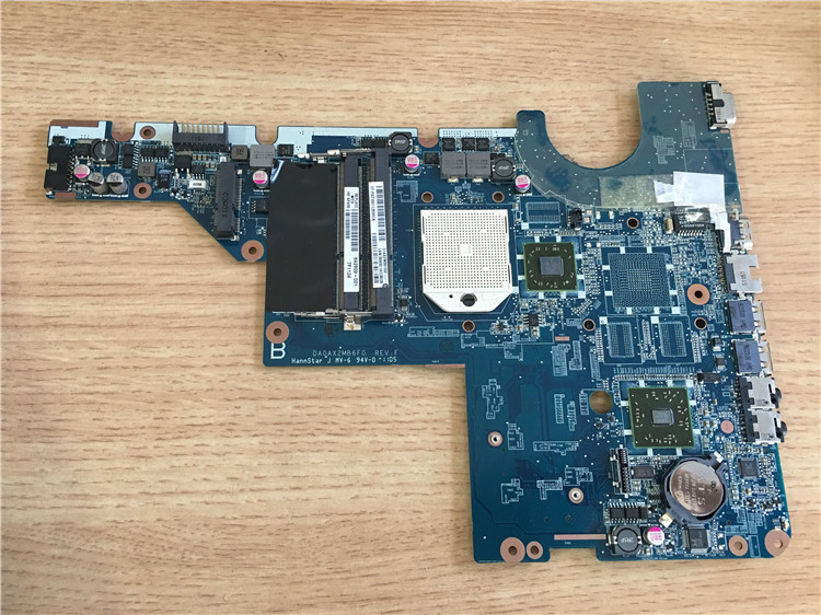 HP laptop motherboard CPU CQ42 G42 CQ62 G62 592809-001 AMD