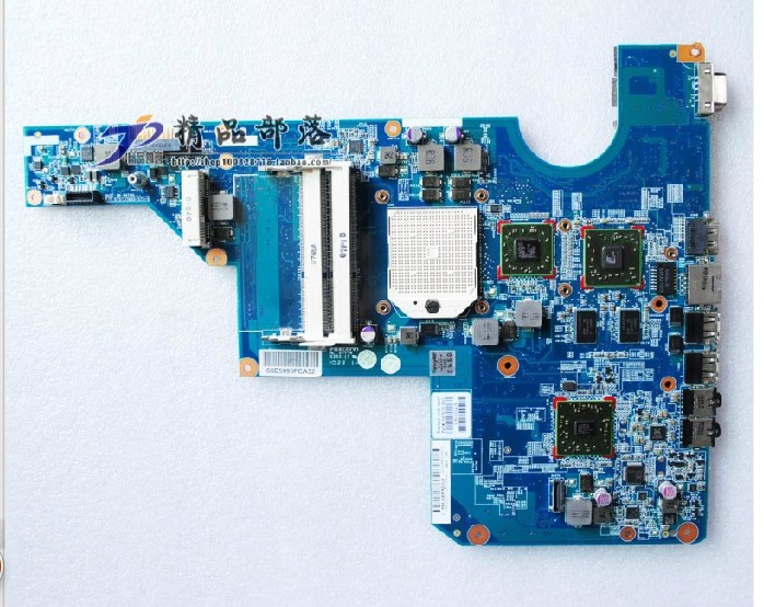 610161-001 for HP G62 motherboard with amd chipset 545v/512 HD C