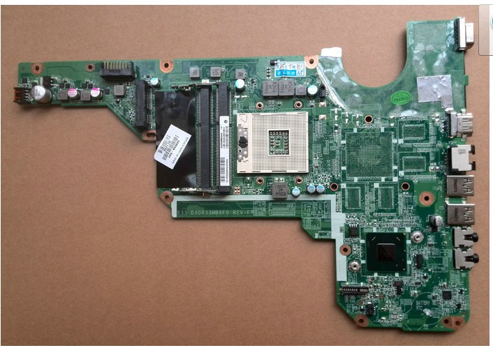 680568-001 for HP G4 G6 G7 motherboard DA0R33MB6E0 intel HM77 DD