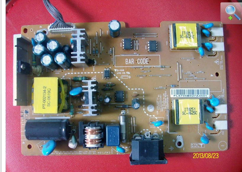 LG L194WT power board 68709D0012C power supply board