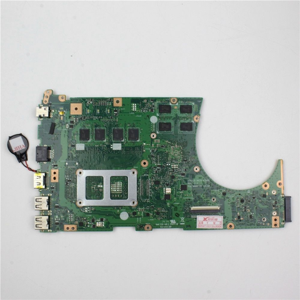 Asus S551LB Laptop Motherboard With Intel I7-4500U 60NB02A0-MBC03