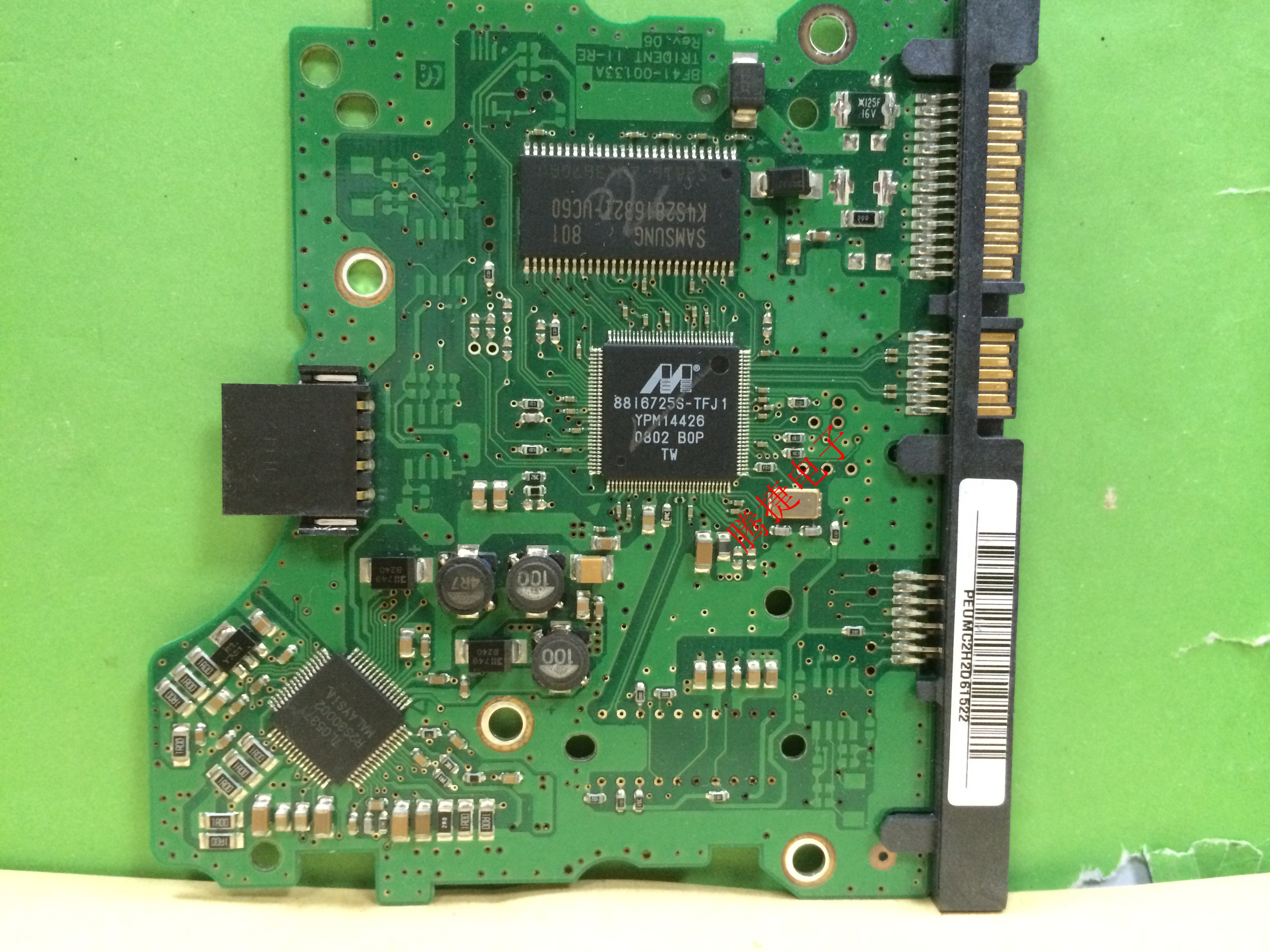 PCB HD320KJ/C BF41-00133A TRIDENT 11-RE REV. 06 Samsung