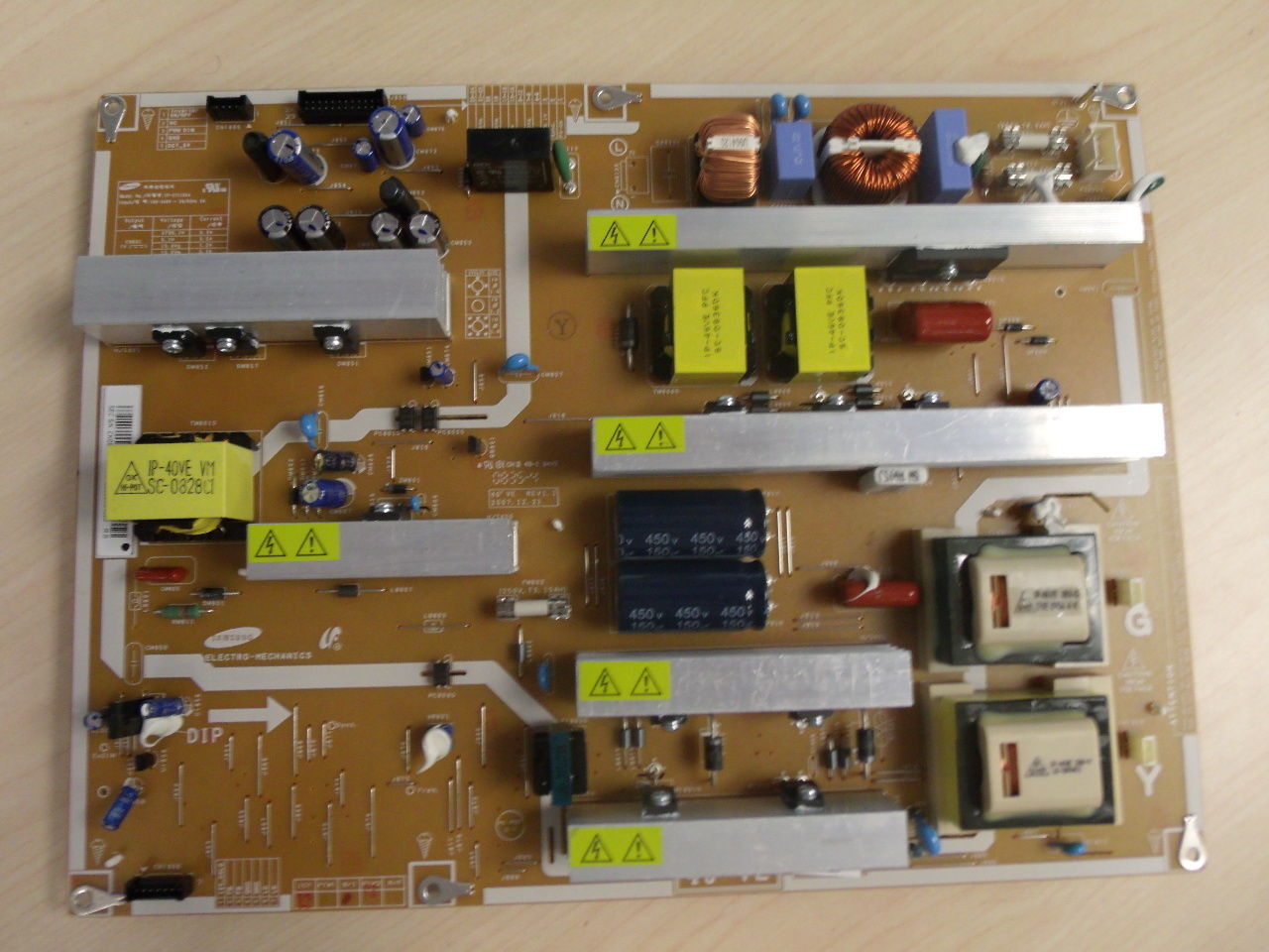 "Samsung 46"" LN46A500 LN46C530 BN44-00202A Power Supply Board Uni"