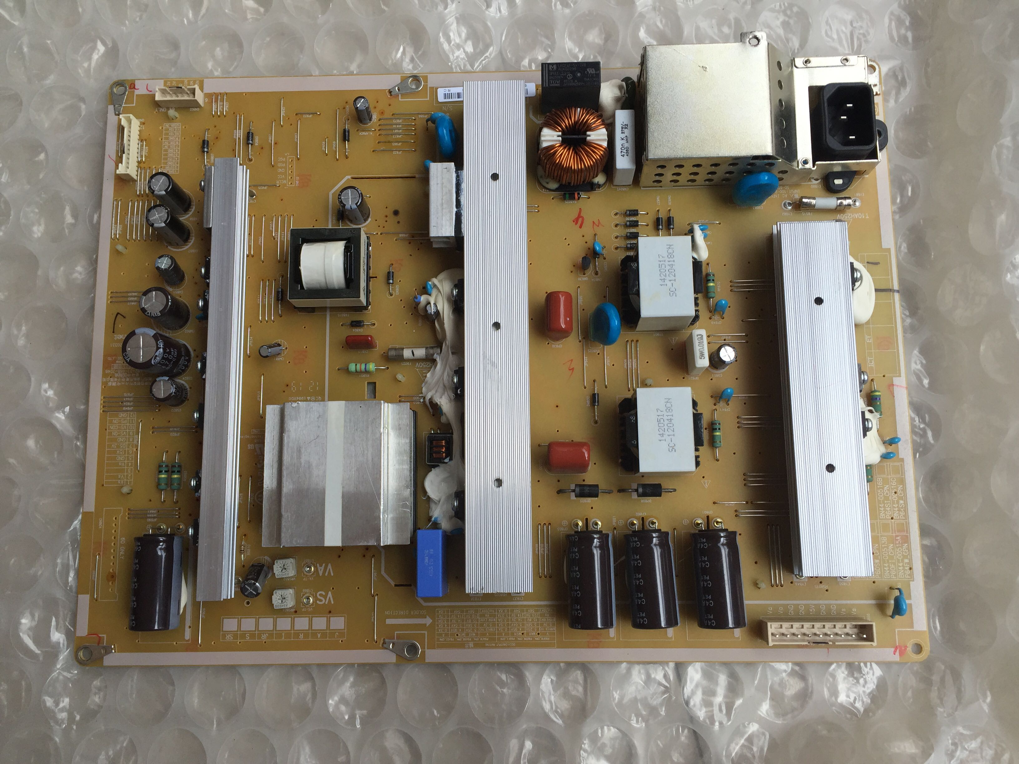 BN44-00516A Power Supply Boards for SAMSUNG PN64E7000 PN64E8000