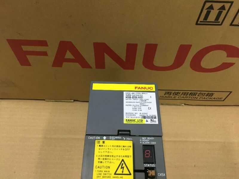 USED FANUC SERVO AMPLIFIER A06B-6096-H301 TESTED EXPEDITED SHIPPING