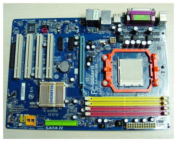 Gigabyte GA-MA770-US3 770 DDR2 AMD motherboard supports