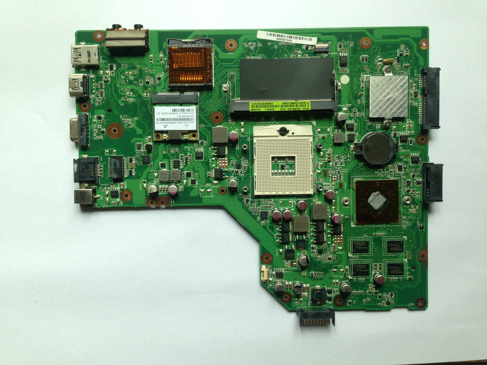 K54LY motherboard for ASUS laptop K54LY X54HR K54HR X54H rev 2.0