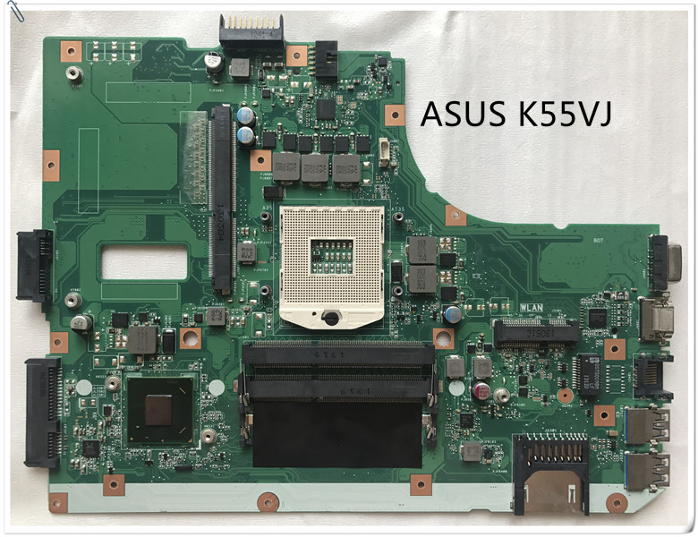 ASUS K55VJ Laptop Motherboard HM76 DDR3 60NB00A0-MB1010 K55VM RE