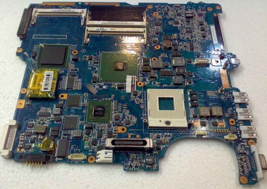 Motherboard For Sony MS20 MBX-156 REV:1.1 1P-1064506-8011 4 Vide