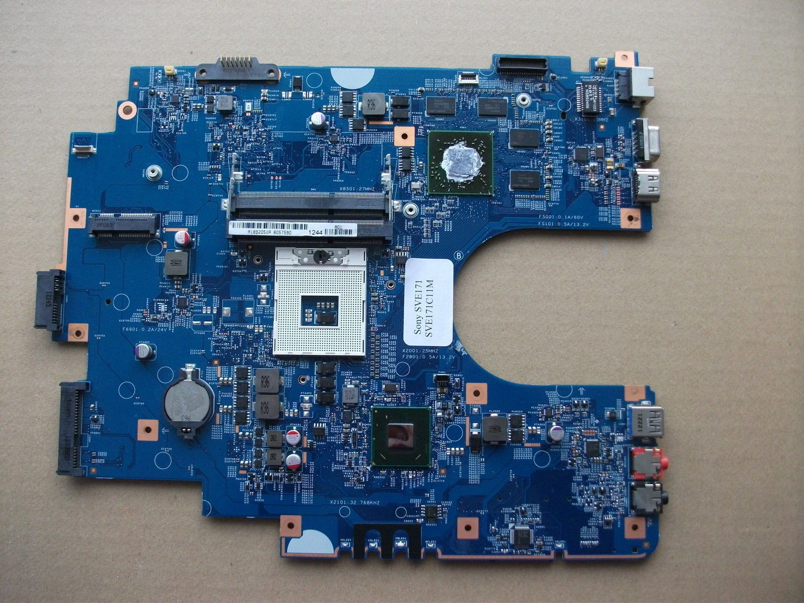 Mbx-267 Z70cr Mb S1204-1 48 4mr05 011 Laptop Motherboard For Son  Mbx-267