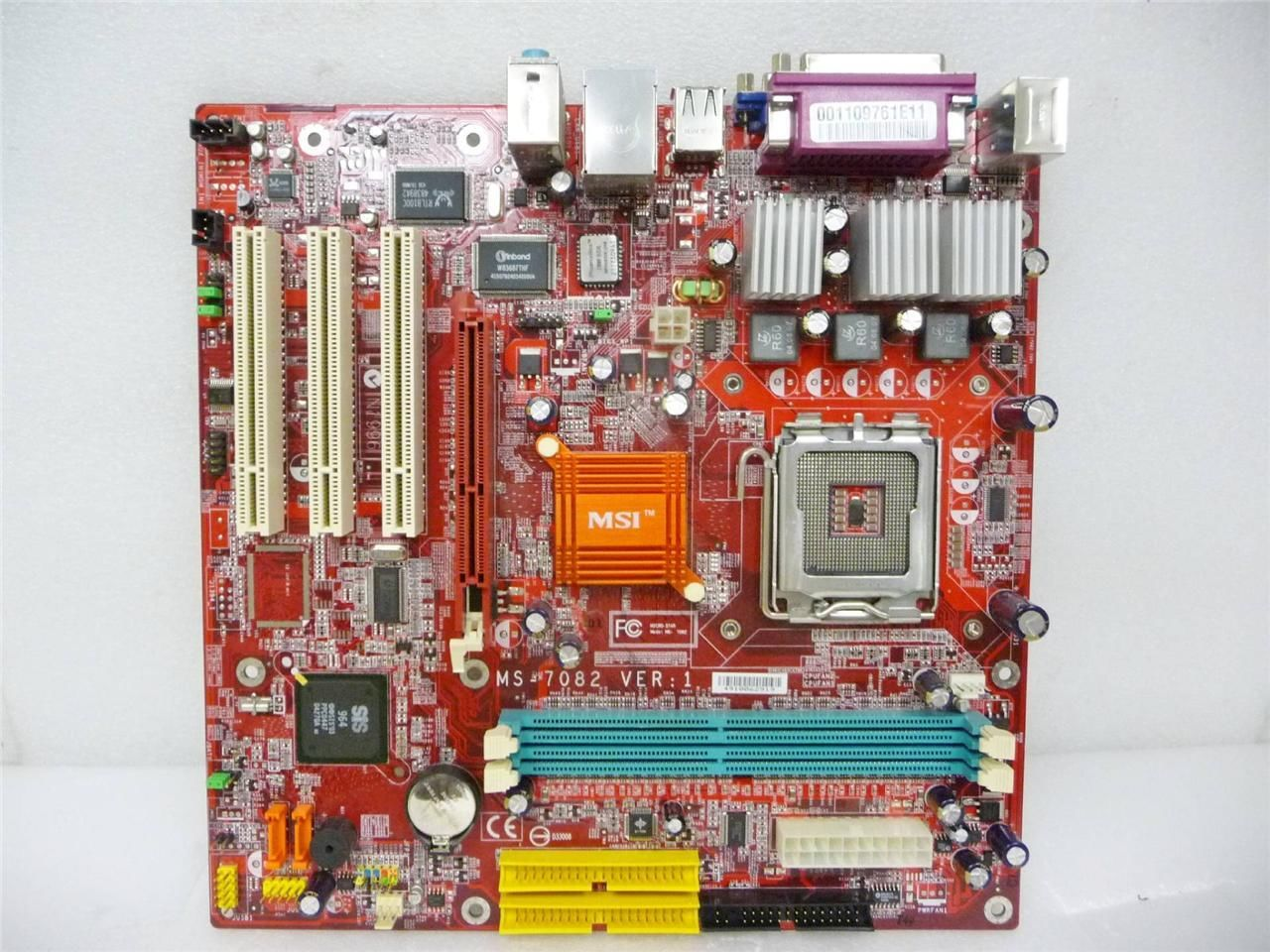 Micro-Star MS-7082 VER 1 Motherboard Socket 775 System Board