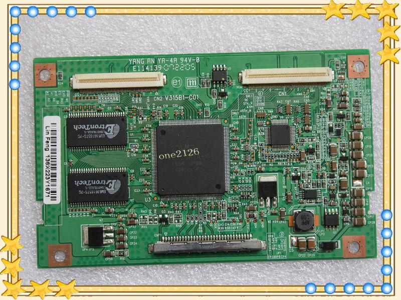 Samsung Ln32a330j1d V315b1-c01 T-con Board Lcd Controller Logic Board  V315b1-c01