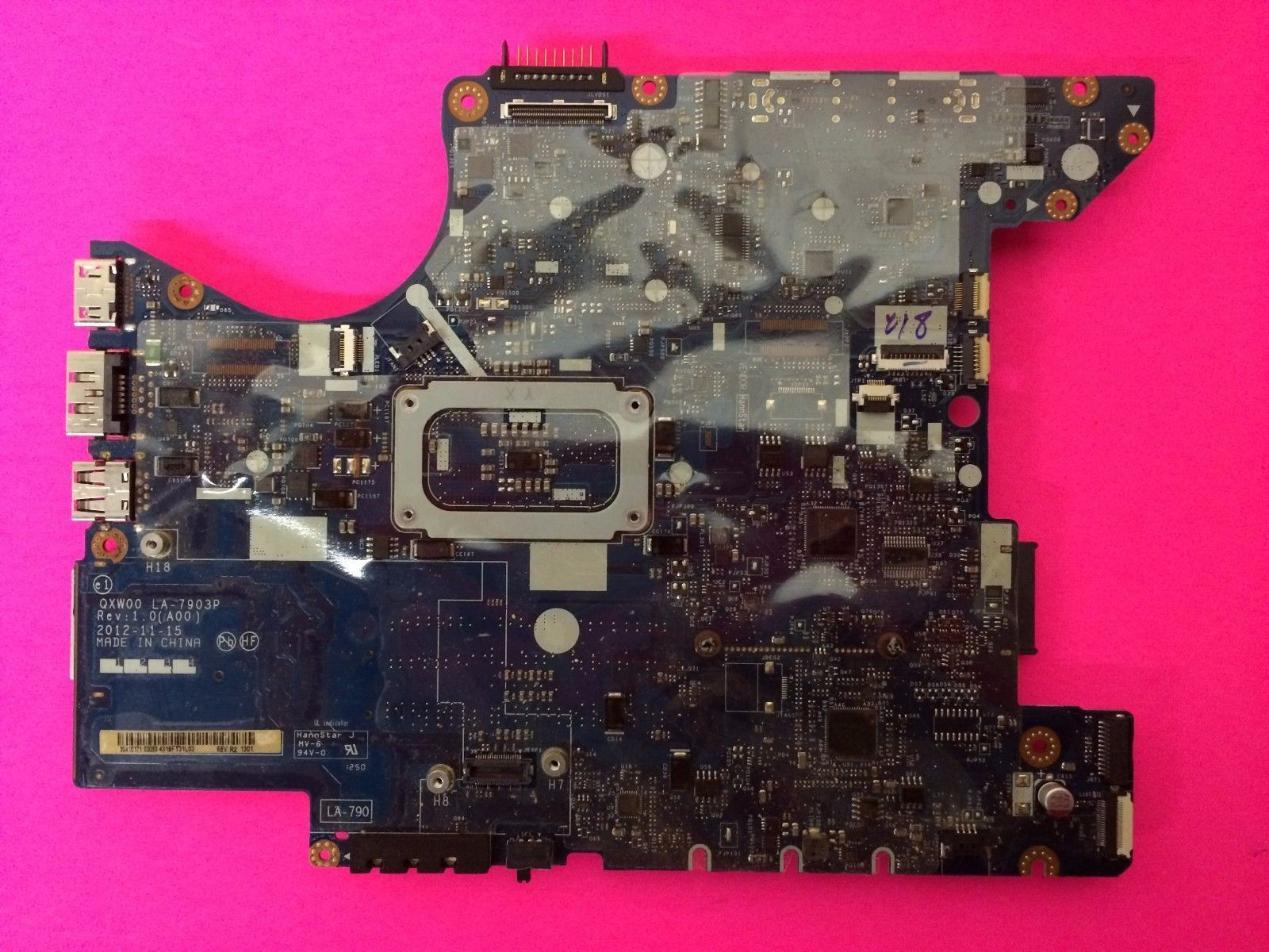 DELL LATITUDE E5430 LAPTOP NOTEBOOK MOTHERBOARD DELL P/N YNDD3