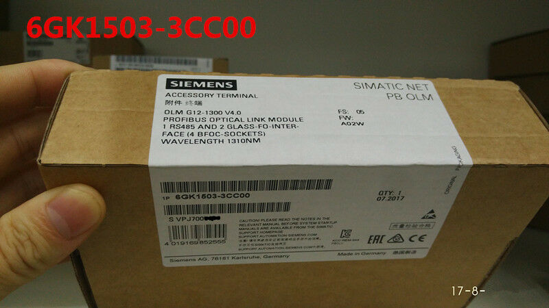SIEMENS 6GK1503-3CC00 6GK1 503-3CC00 NEW SEALED