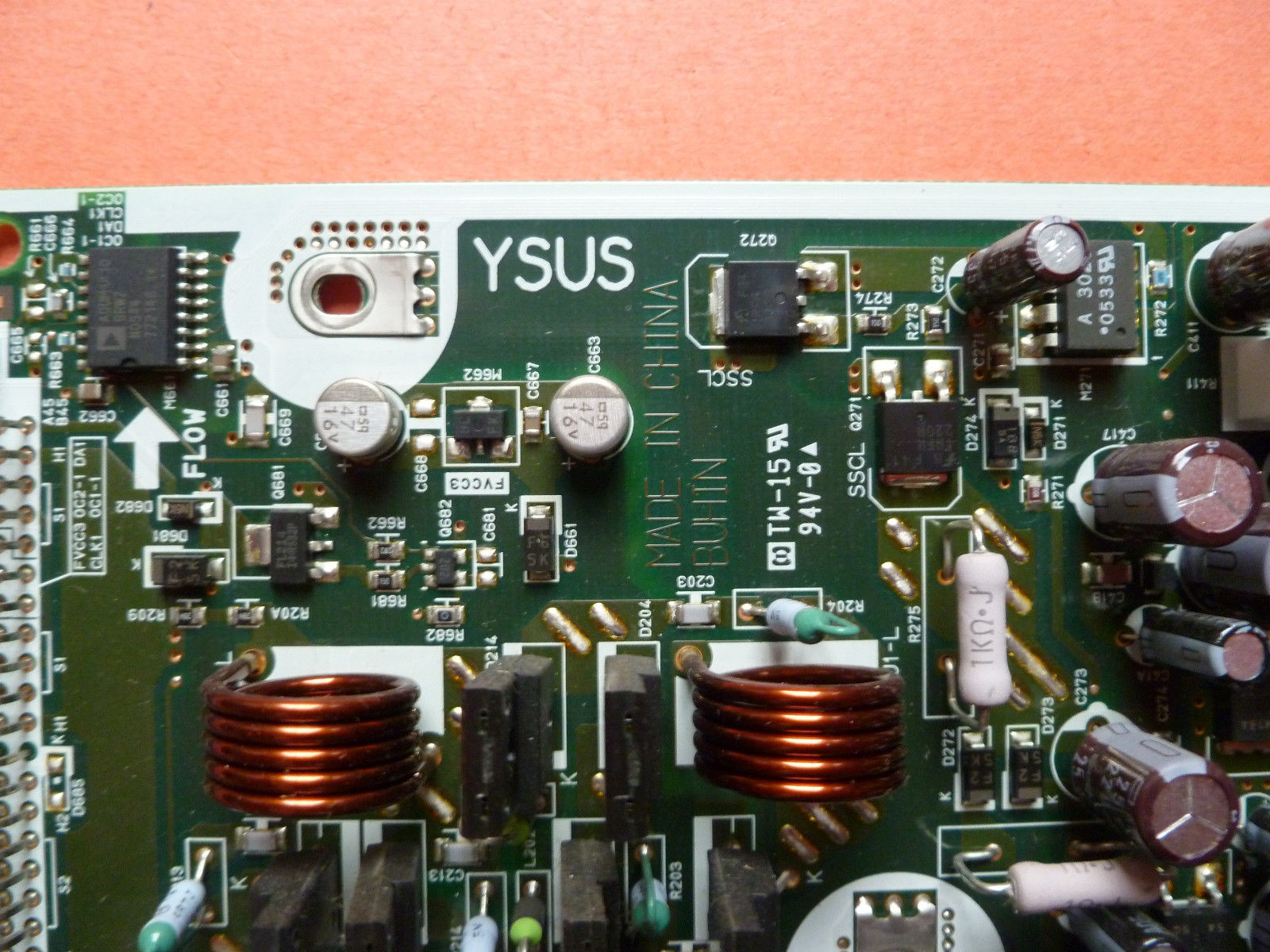 TV YSUS BOARD ND60200-0038 FROM AKAI PDP4225M