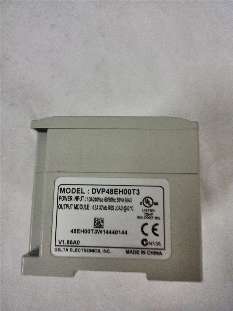 DVP48EH00T3 Delta EH2/EH3 Series PLC DI 24 DO 24 Transistor output 100-2