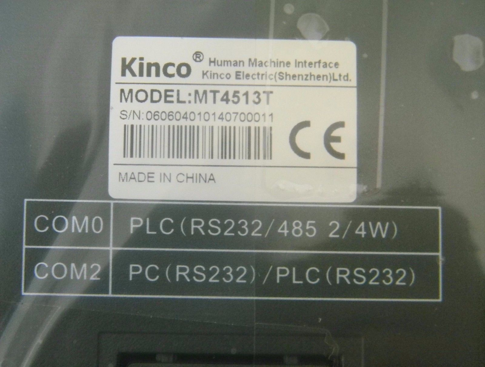MT4513T Kinco HMI Touch Screen 10.4 inch 800*600 with program cable new