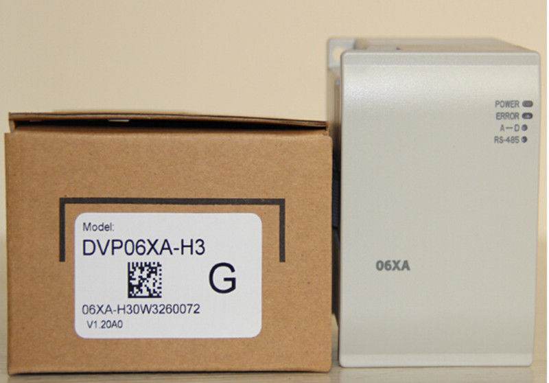 DVP06XA-H3 Delta EH2/EH3 Series PLC Analog Module AI 4 AO 2 new in box