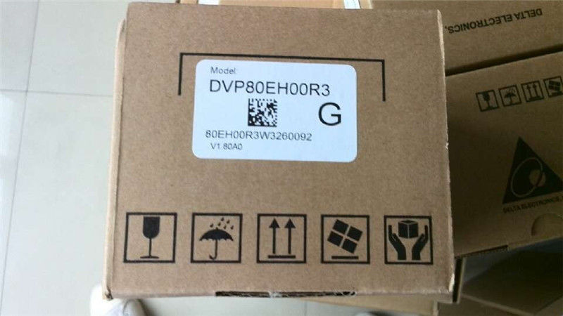 DVP80EH00R3 Delta EH2/EH3 Series PLC DI 40 DO 40 Relay output 100-240VAC