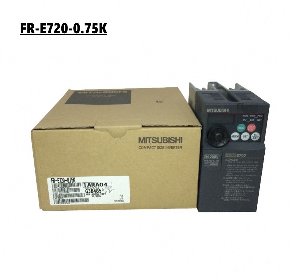Brand New MITSUBISHI inverter FR-E720-0.75K In Box FRE7200.75K