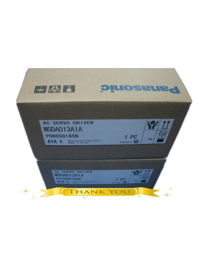 100% NEW PANASONIC AC Servo drive MSDA013A1A in box