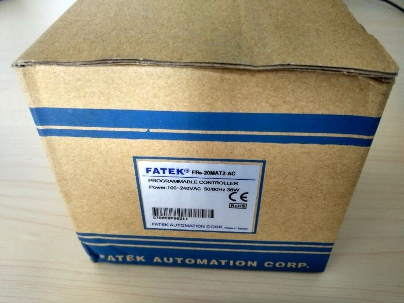 NEW Genuine FBs-20MAT2-AC Fatek PLC AC220V 12 DI 8 DO transistor