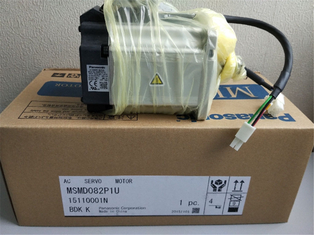 100% NEW PANASONIC Servo motor MSMD082P1U in box