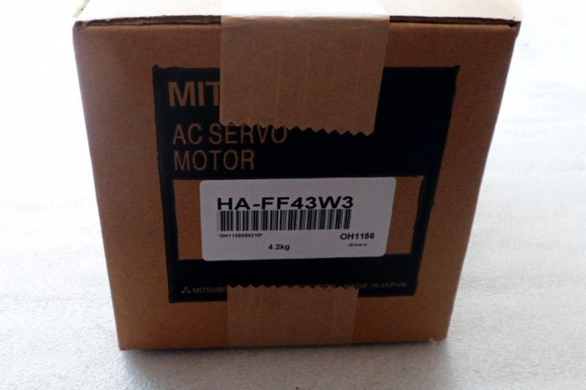100% NEW Mitsubishi SERVO MOTOR HA-FF43W3 in box HAFF43W3