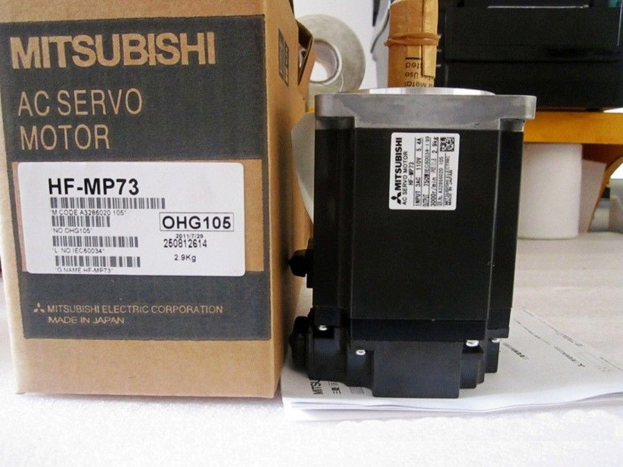 100% NEW Mitsubishi Servo Motor HF-MP73 HF-MP73B IN BOX HFMP73B