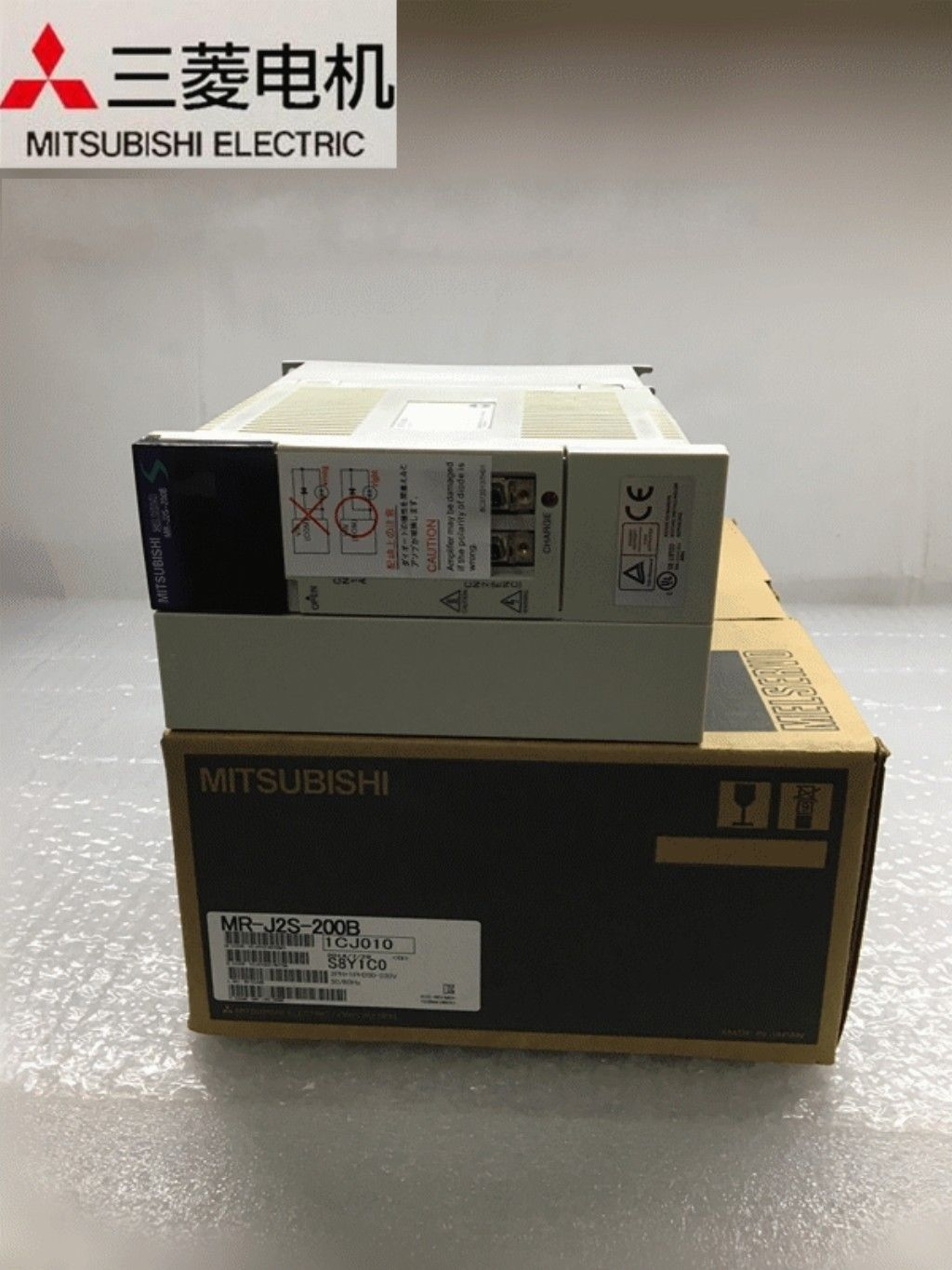 100% New Mitsubishi Servo Drive MR-J2S-200B In Box MRJ2S200B
