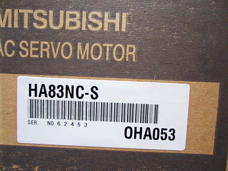 100% NEW Mitsubishi Servo Motor HA83NC-S in box HA83NCS