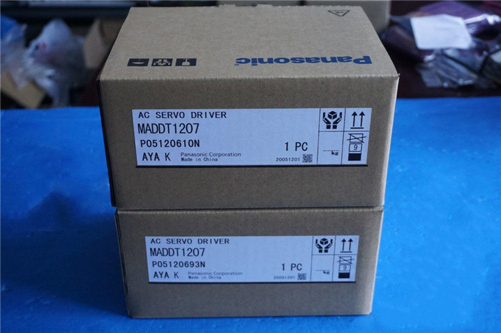 100% NEW PANASONIC AC Servo drive MADDT1207 in box