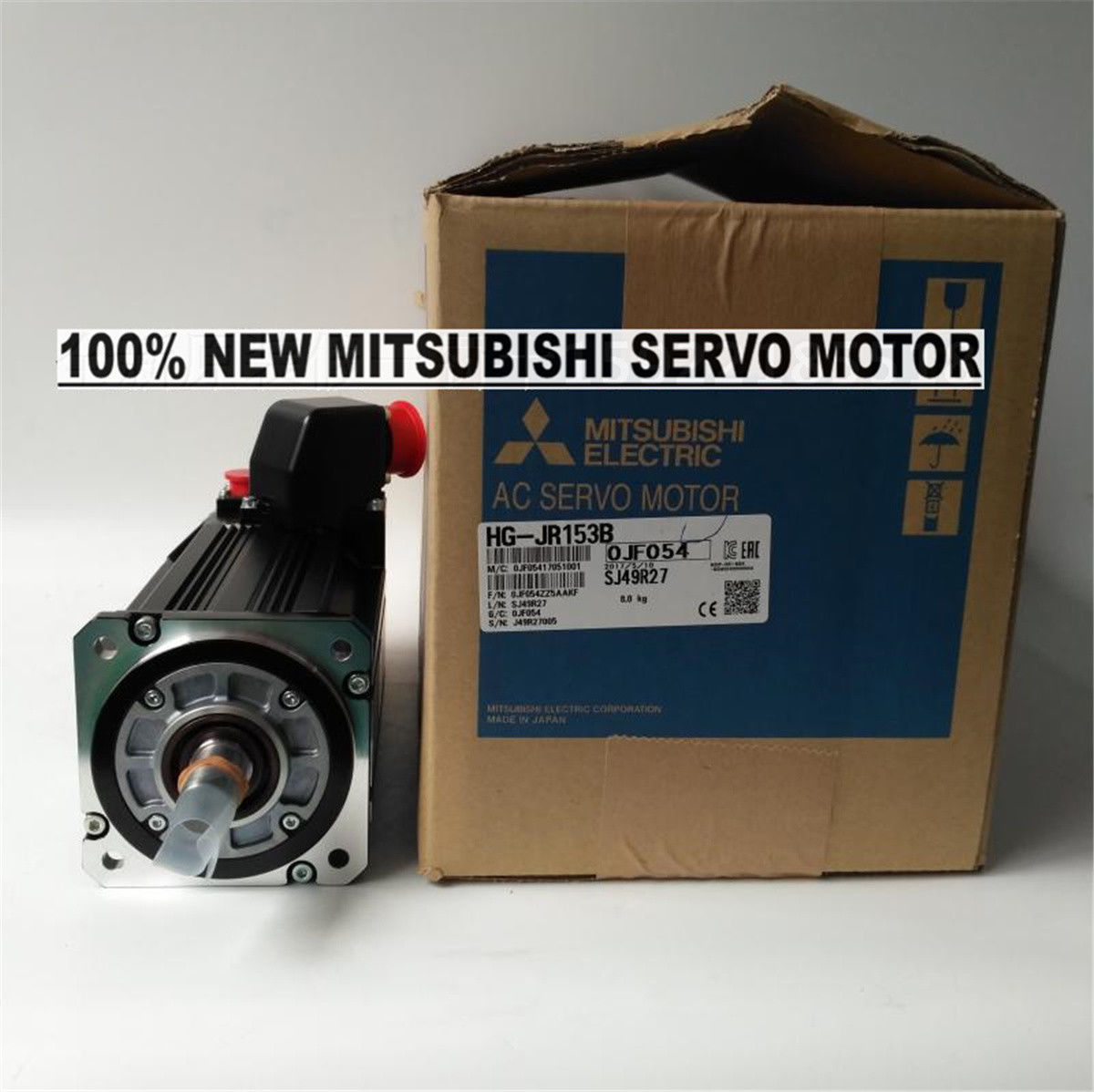 NEW Mitsubishi Servo Motor HG-JR153B in box HGJR153B