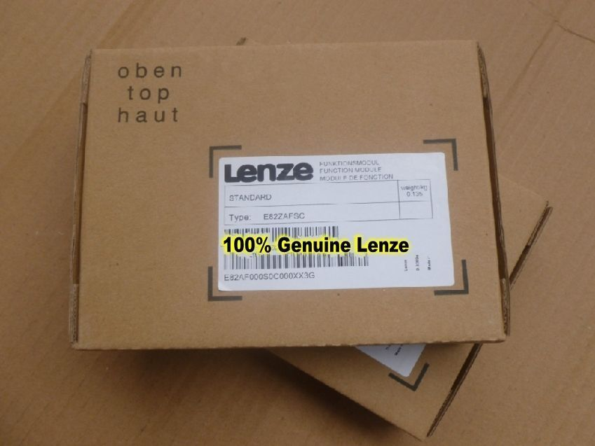 Genuine LENZE STANDART I/O FUNCTION MODULE E82ZAFSC in new box