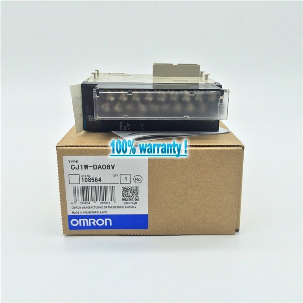 BRAND NEW OMRON MODULE CJ1W-DA08V IN BOX CJ1WDA08V