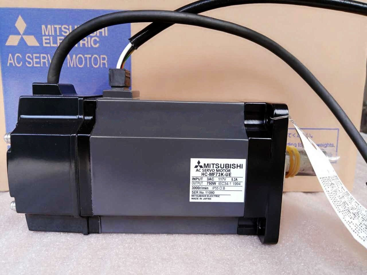 MITSUBISHI SERVO MOTOR HC-MF73K-UE NEW in box HCMF73KUE