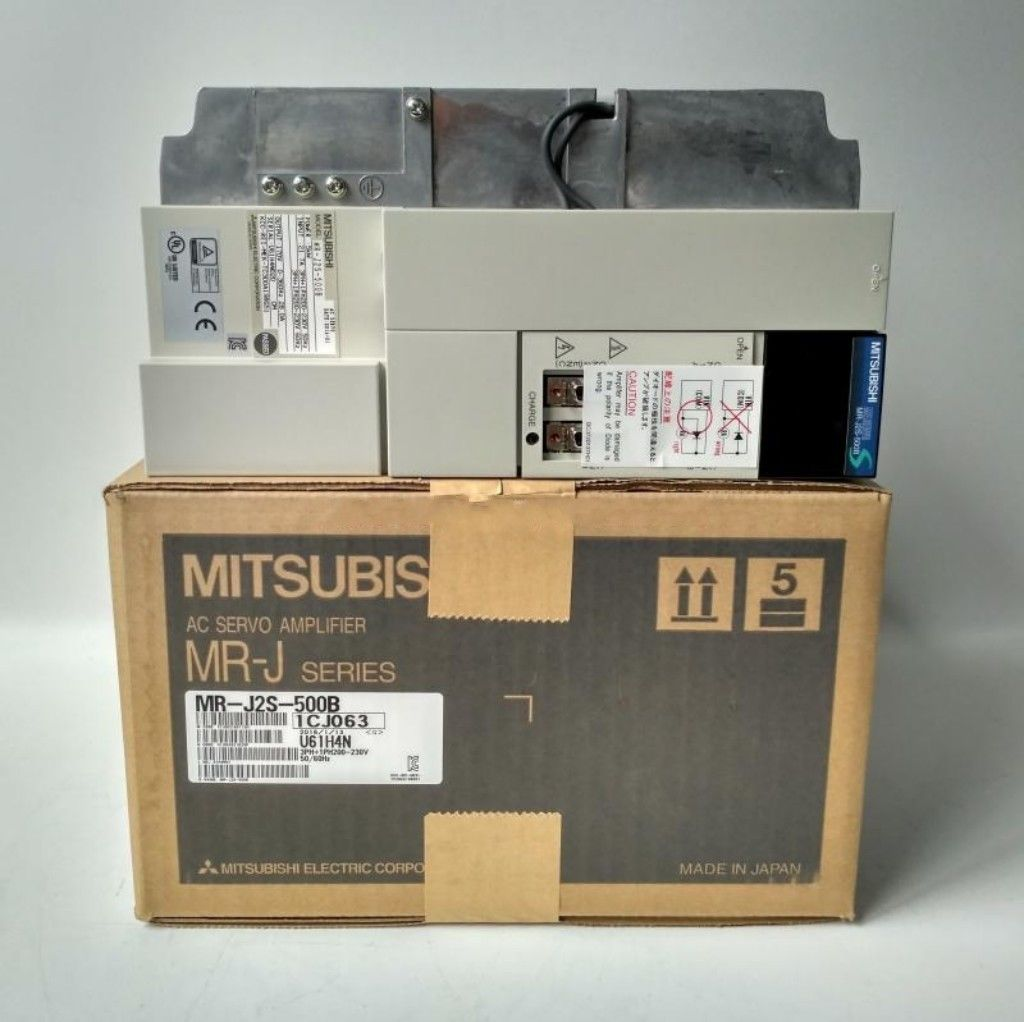 100% New Mitsubishi Servo Drive MR-J2S-500B In Box MRJ2S500B