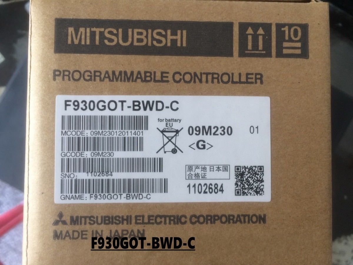 New Mitsubishi F930GOT-BWD-C Touch Panel In Box F930GOTBWDC
