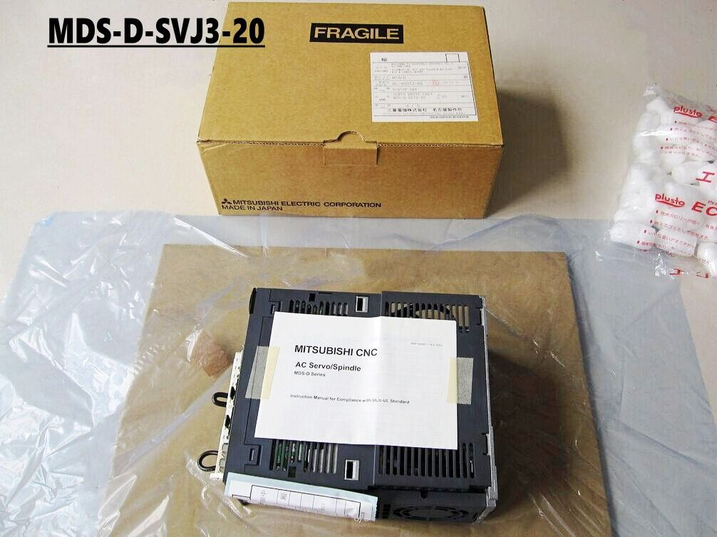 100% New Mitsubishi Servo Drive MDS-D-SVJ3-20 In Box MDSDSVJ320