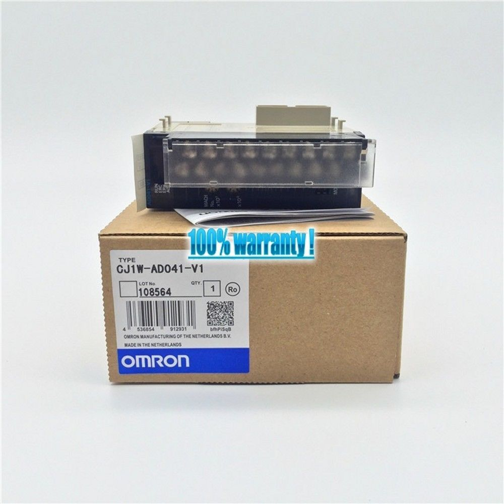 100% NEW OMRON MODULE CJ1W-AD041-V1 IN BOX CJ1WAD041V1