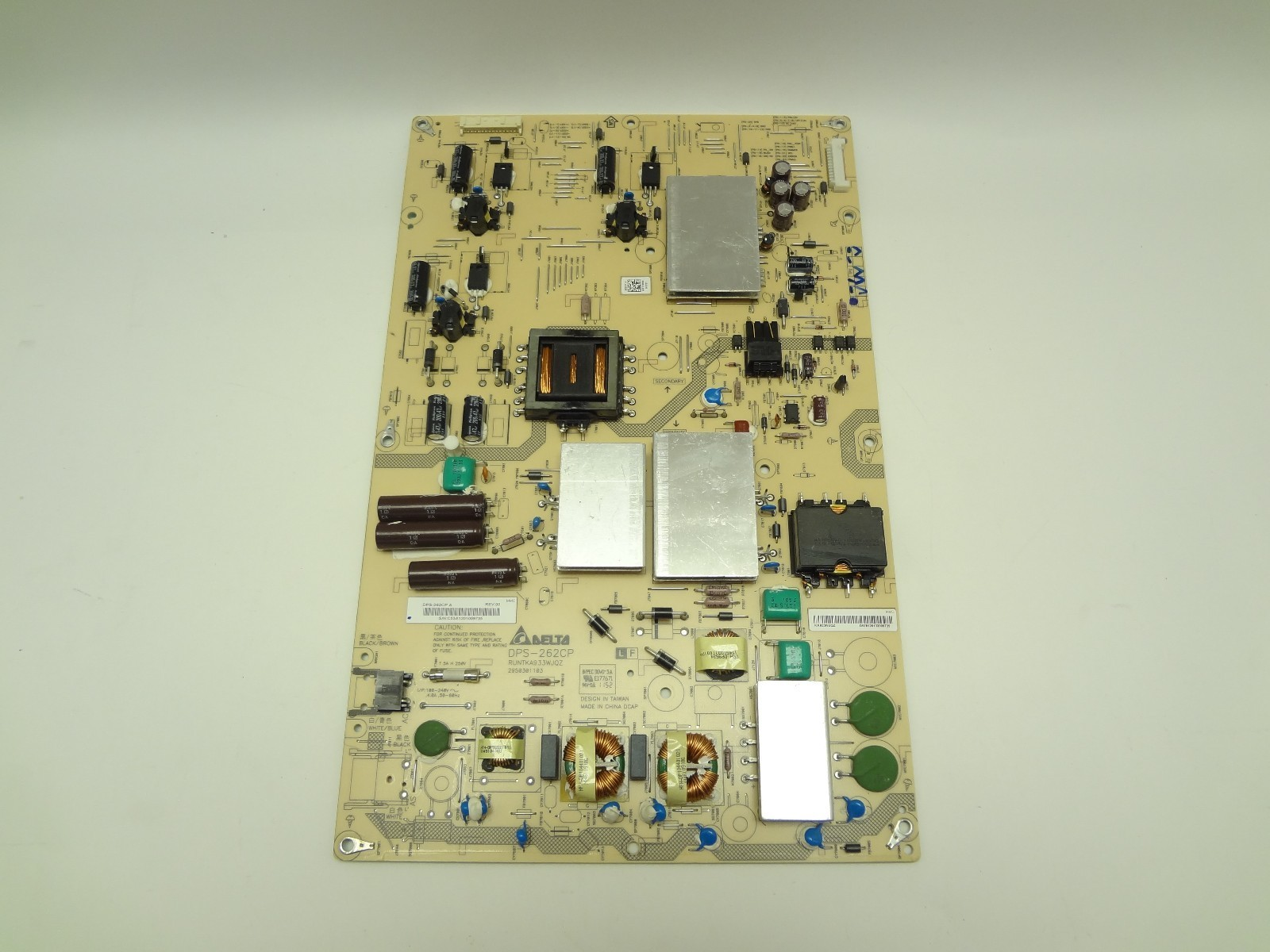 "Sharp 70"" LC-70LE640U DPS-262CP LCD LED Power Supply Board RUNTKA933WJQZ"