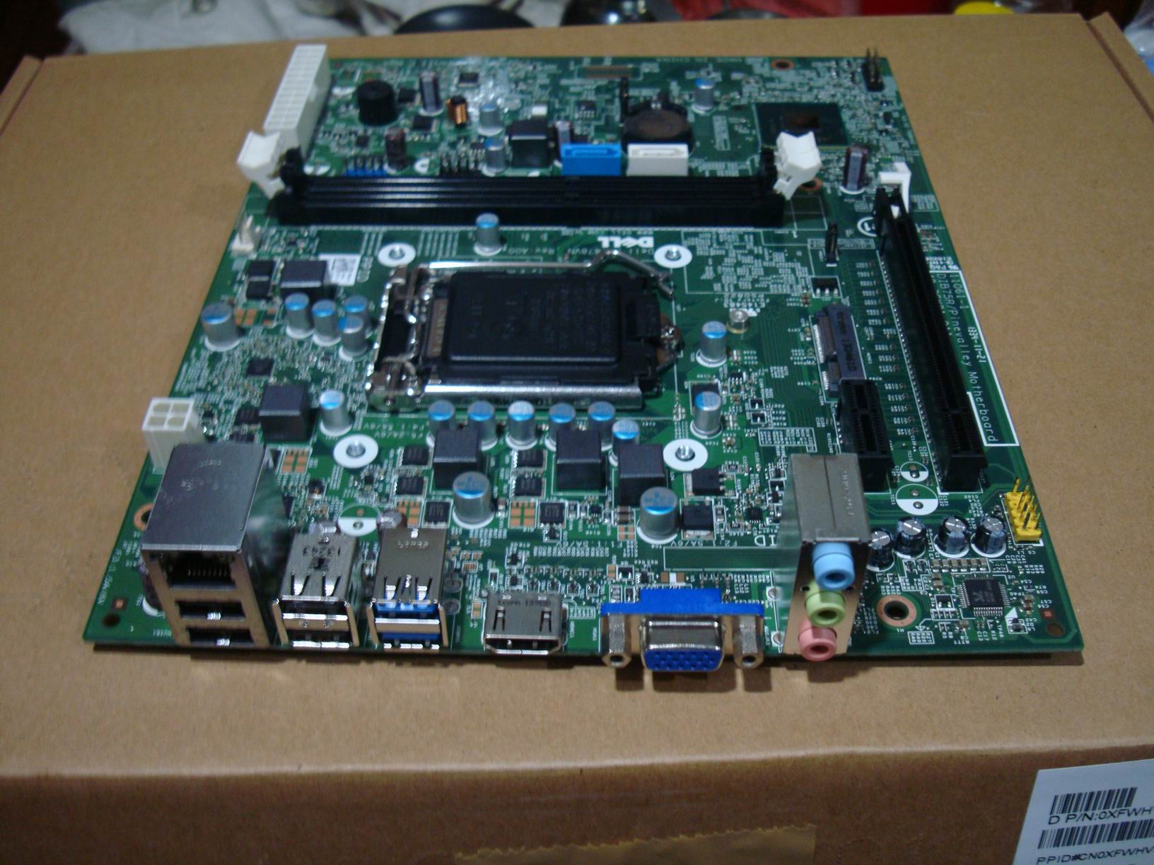 DELL Inspiron 660s Vostro 270s Motherboard XFWHV 0XFWHV