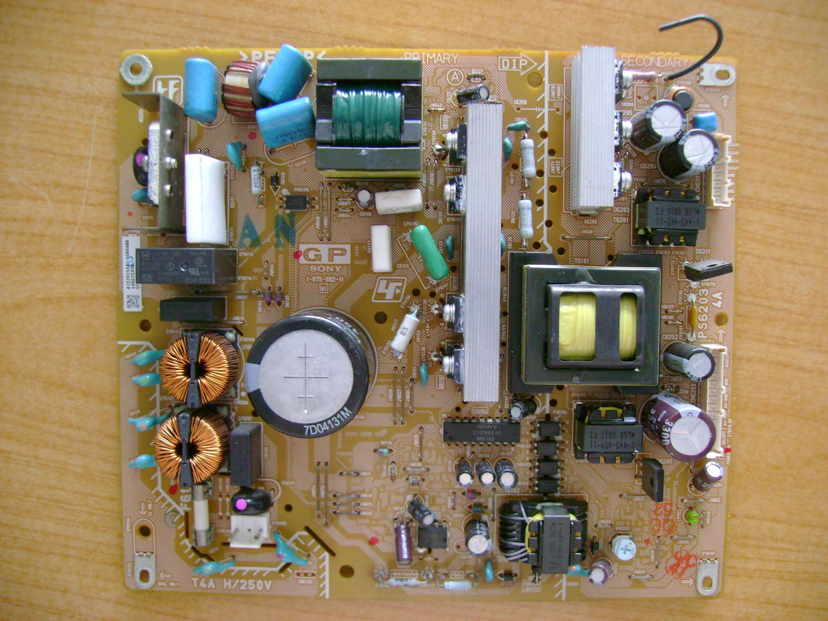 Original For Sony KLV-32S400A Power Supply Board 1-875-582-11
