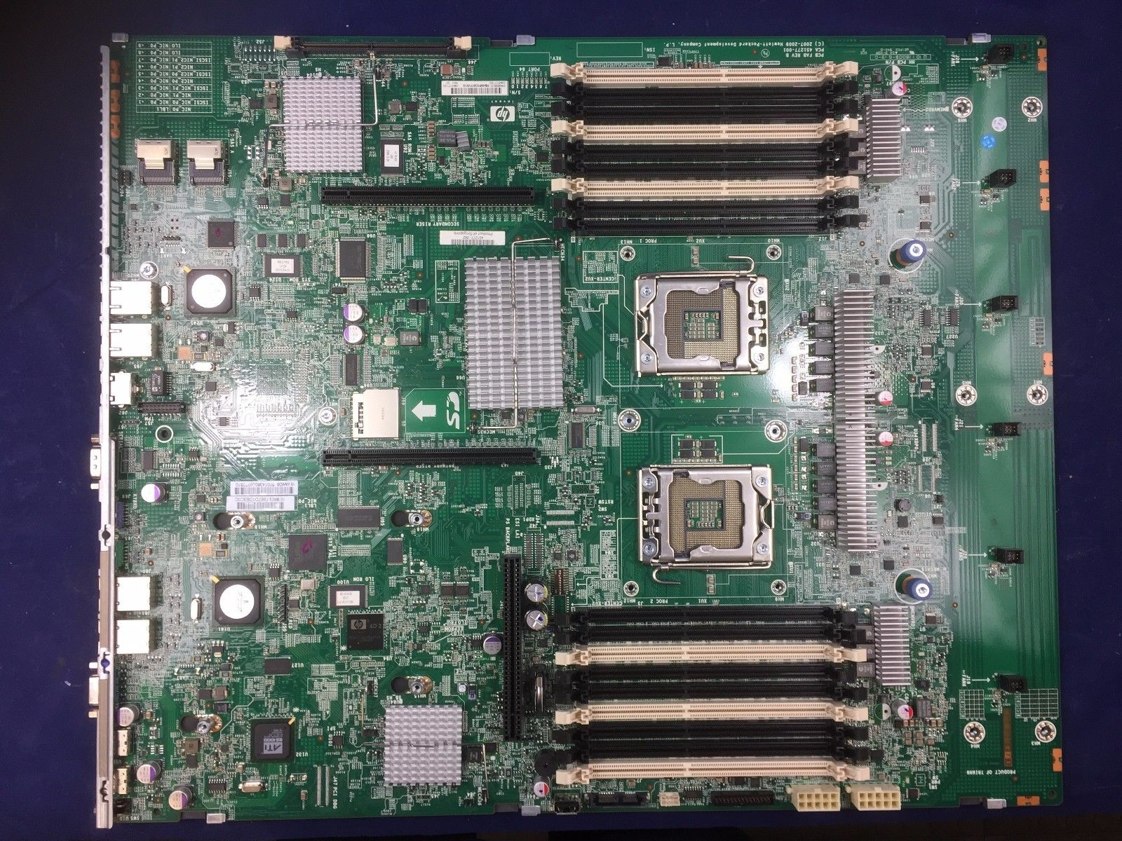 HP ProLiant DL380 G6 Dual Socket B LGA1366 Motherboard 496069-001 451277