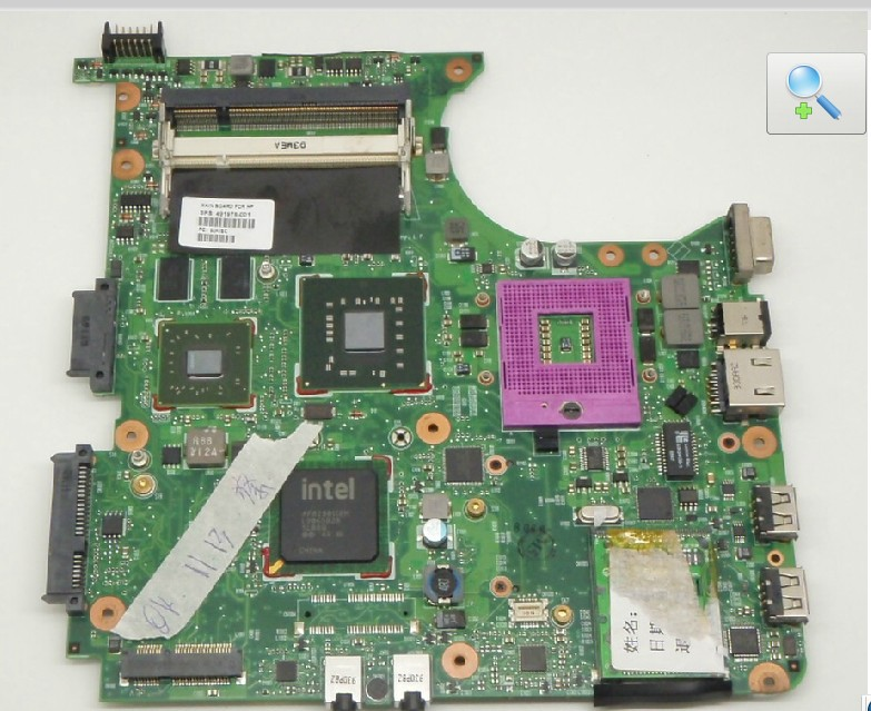 HP Compaq 6530s 6730s Intel Motherboard 491976-001 Non-Integrate