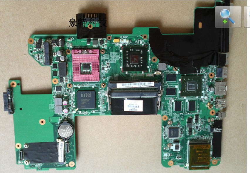 For HP HDX18 496871-001 Laptop Motherboard Nviida Graphics