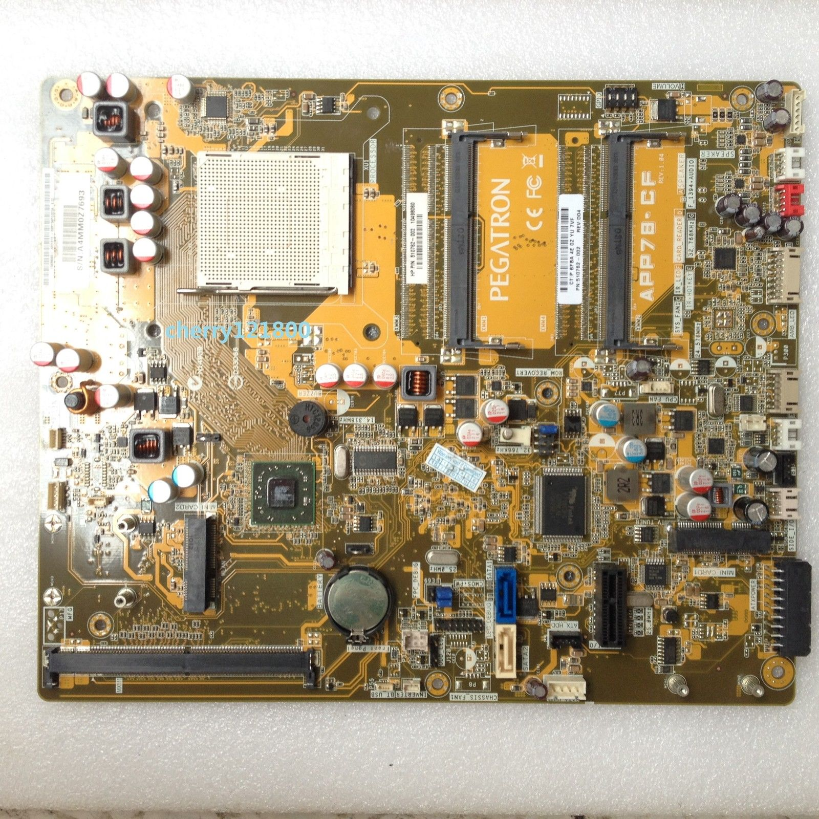 HP 510762-002 TouchSmart 300 APP78-CF RS780NM AMD Motherboard